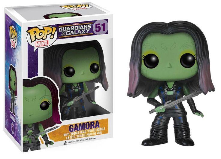 Guardians of the Galaxy POP! Vinyl Figur Gamora 10 cm  Guardian of the Galaxy - Hadesflamme - Merchandise - Onlineshop für alles was das (Fan) Herz begehrt!