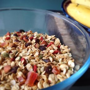 My simple, healthy Toasted Muesli recipe