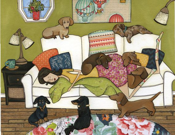 Hey, I found this really awesome Etsy listing at https://www.etsy.com/listing/265927639/couch-wieners-print