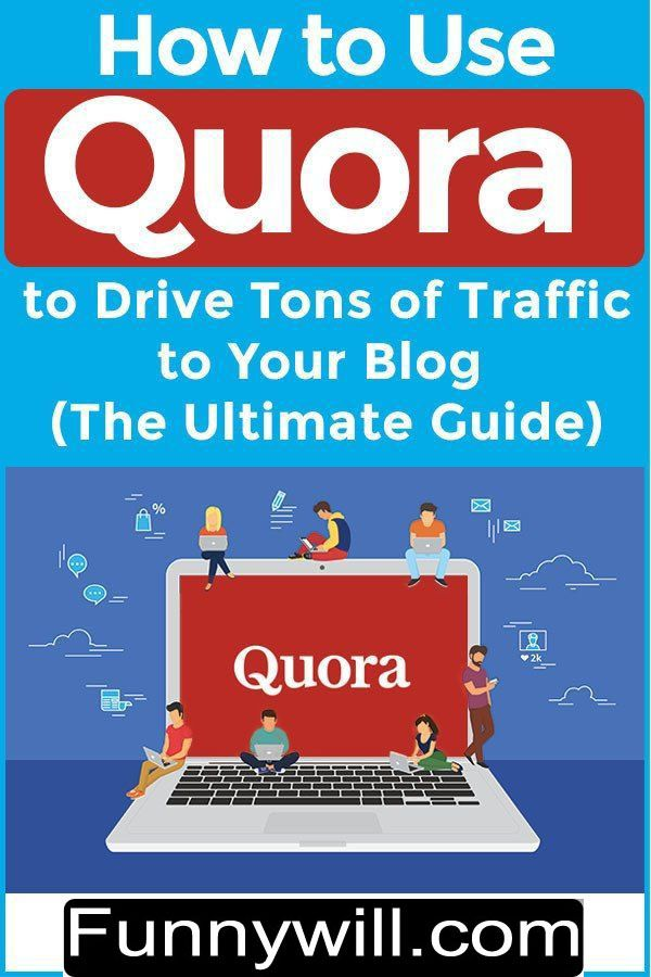 How To Use Quora To Drive Traffic To Blog Blog Traffic Increase Blog Traffic Blogging Guide