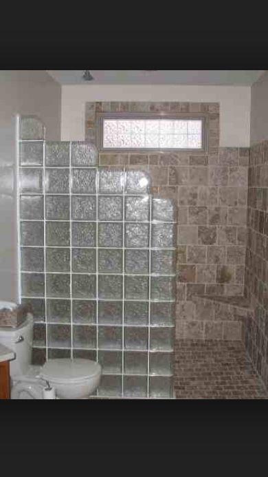 Bathroom Ideas Using Glass Blocks On Block Wall Renovations Photo Gallery RMB