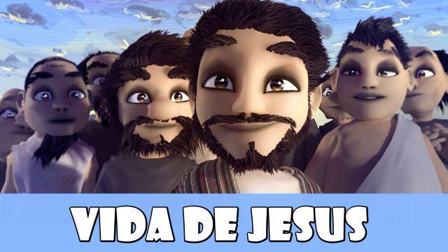 Série de desenhos animados com 5 episódios sobre a Vida de Jesus.