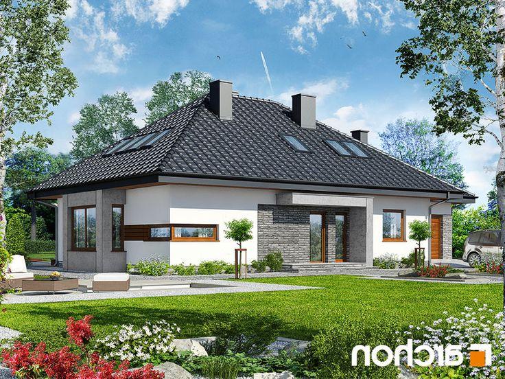 projekt Dom pod jarząbem (GPDN) lustrzane odbicie 1
