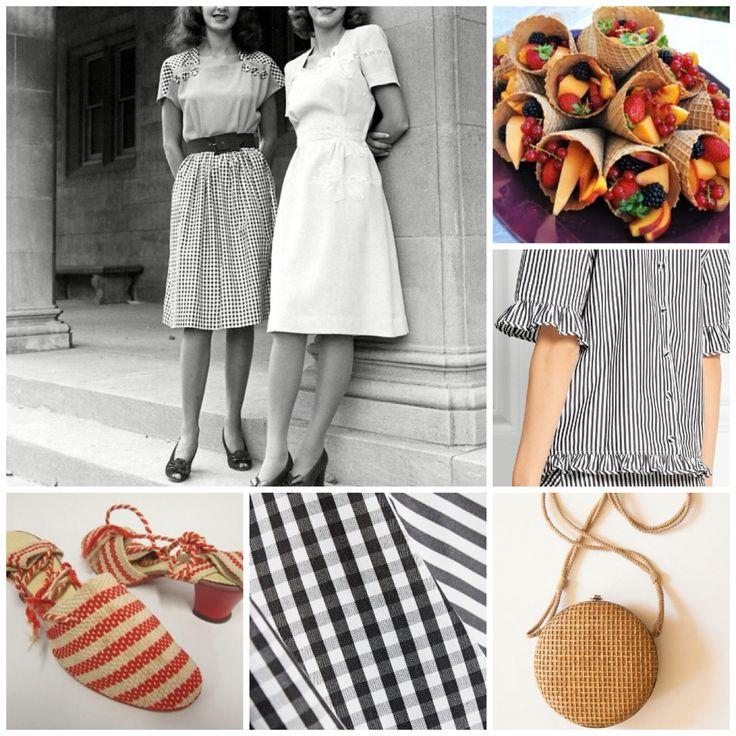 Vintage Inspired Summer Mood Boaed