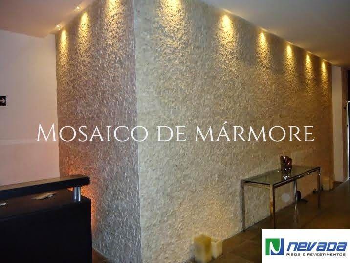 Pedras decorativas pastilhas e porcelanato na fachada e for Mosaicos para paredes interiores