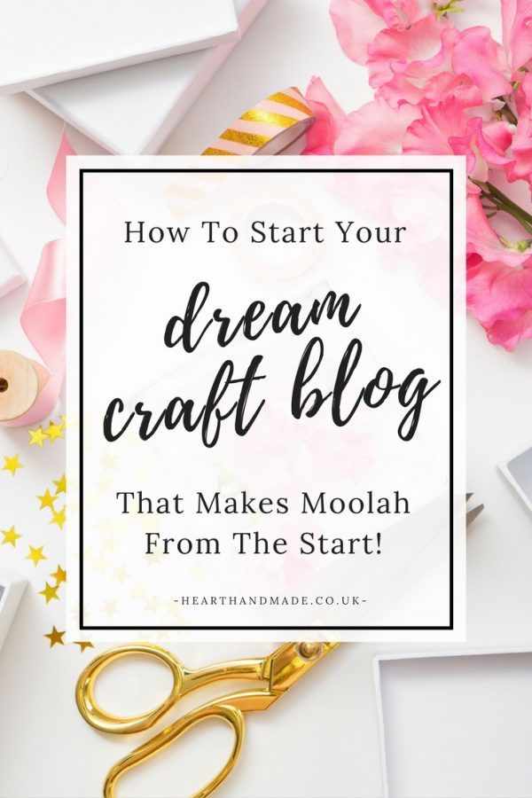 How To Start A Craft Business Through Blogging so you can earn money from Home!  http://www.hearthandmade.co.uk/set-up-a-wordpress-blog/?utm_campaign=coschedule&utm_source=pinterest&utm_medium=Heart%20Handmade%20UK&utm_content=How%20To%20Start%20A%20Craft%20Blog%20And%20Make%20Some%20Money%21