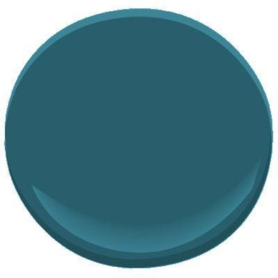 Benjamin Moore bermuda turquoise 728