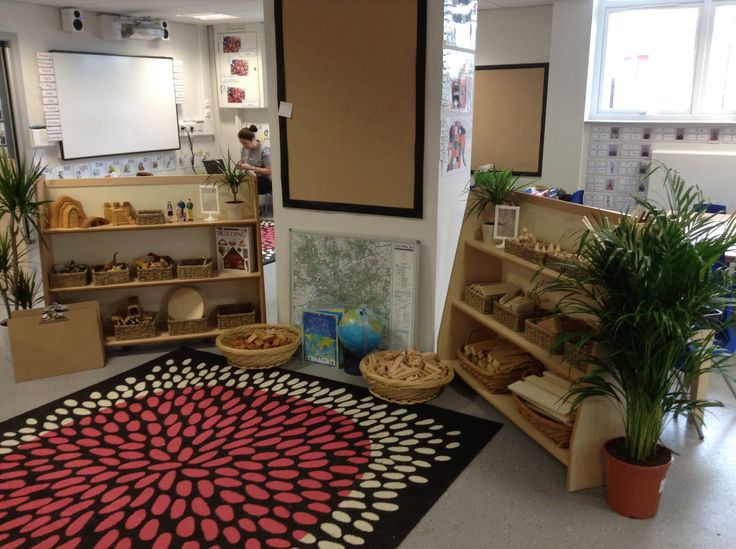 Small world/construction area. All resources are as non prescriptive as possible opening up the scope for different uses, and are changed half termly to match the children's current needs and interests. #abcdoes #eyfs #continuousprovision