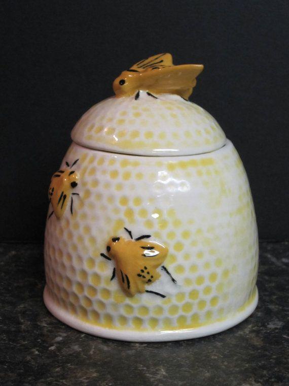 vintage honey pot...