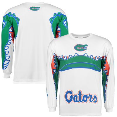 Florida Gators Chomp Long Sleeve T-Shirt - White