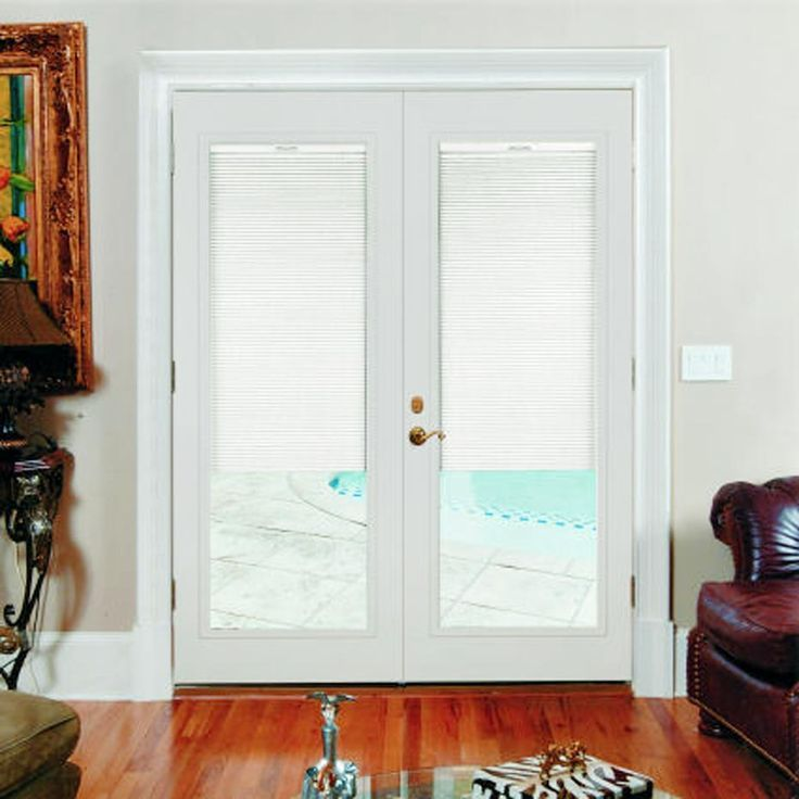 French Patio Doors With Built In Blinds 2 Goruntuler Ile