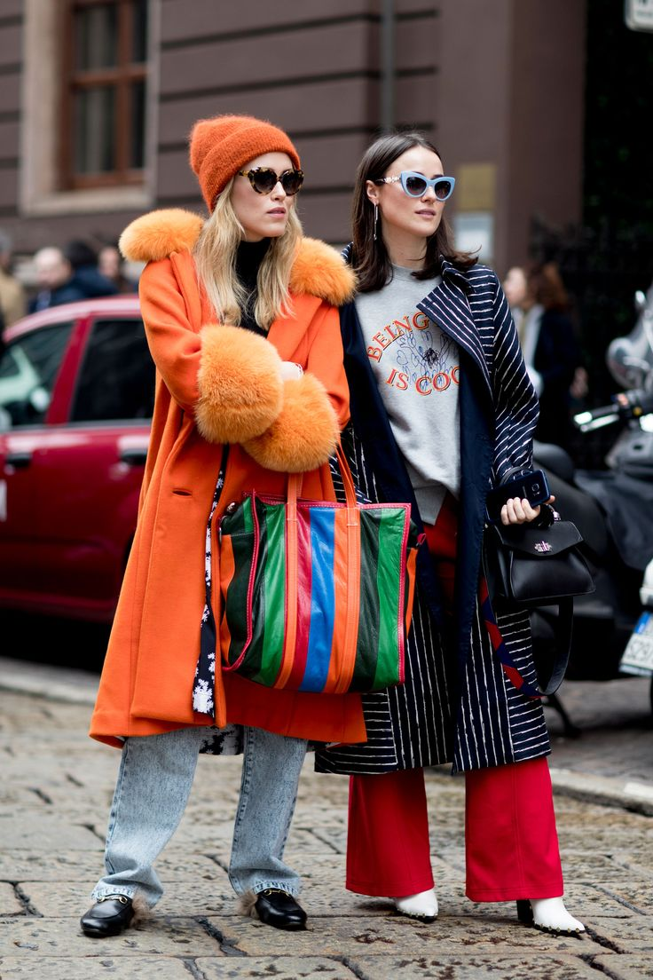 Milan Fashion Week Fall 2017 Street Style Day 3, Fall 2017 See the best street style captured at Milan Fashion Week Fall 2017 at TheImpression.com MFW