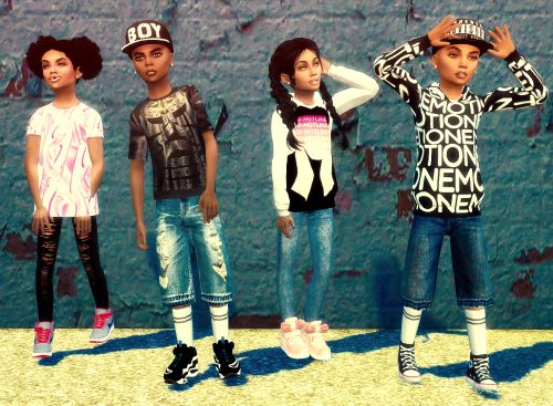 Single Post Urban Kids Clothes Sims 4 Cc Kids Clothing
