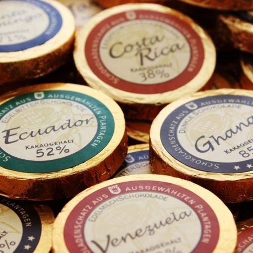Coeur personnalisable Trésor de chocolats   ideecadeau.ch