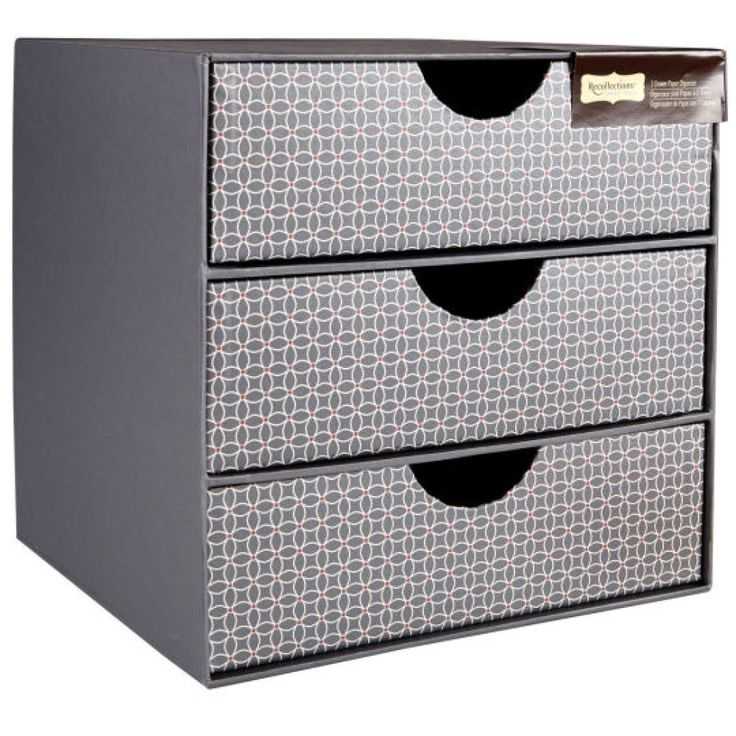Recollections Signature  Drawer Paper Organizer  Best Office Organization Images On Pinterest Organizers
