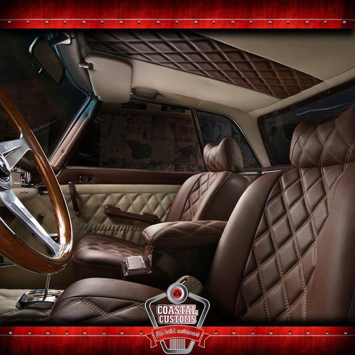 Planning on re-upholstering your custom cars interior? Here are a few tips to consider when choosing leather, http://apost.link/5u5. #leather #cars #custom