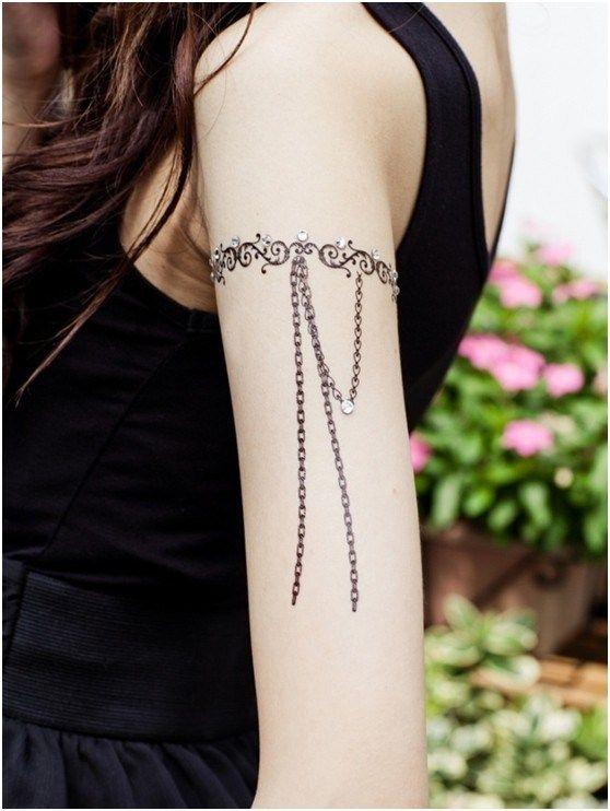 Lace Armband Waterproof Tattoo
