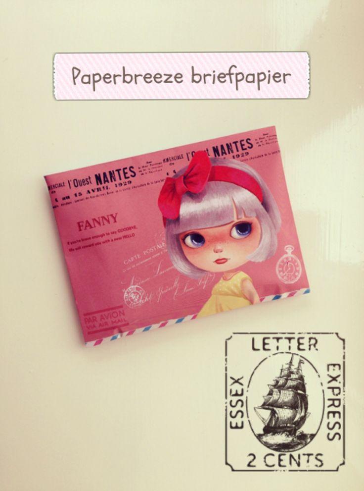 Fanny briefpapier