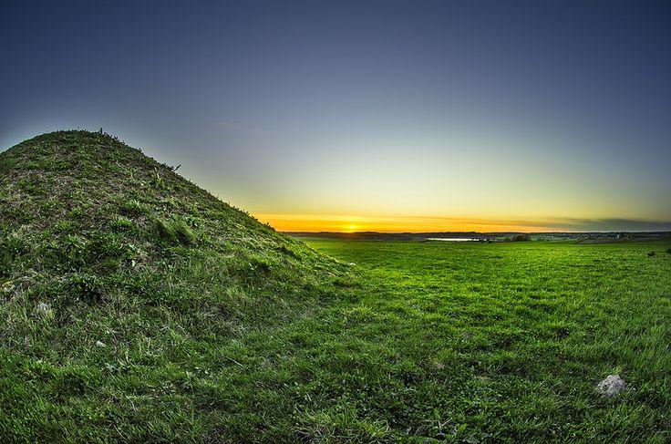 Solnedgang i Borum Eshøj