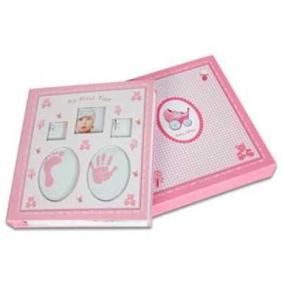 Yeni Doğan Bebek Albümü (120 Fotoğraflık)-Pembe :: KALİTEDE UYGUN FİYAT