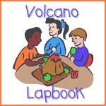 Volcano lapbook: Lap Book, Preschool Lapbook, Rainbow