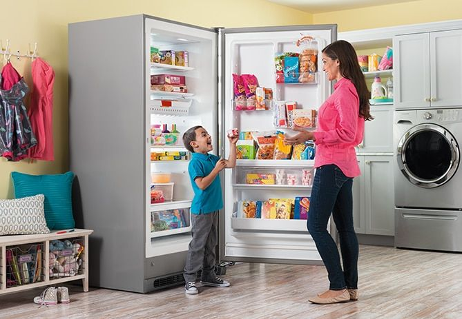 Check out this Frigidaire Gallery 20.5 Cu. Ft. 2-in-1 Upright Freezer or Refrigerator and other appliances at Frigidaire.com