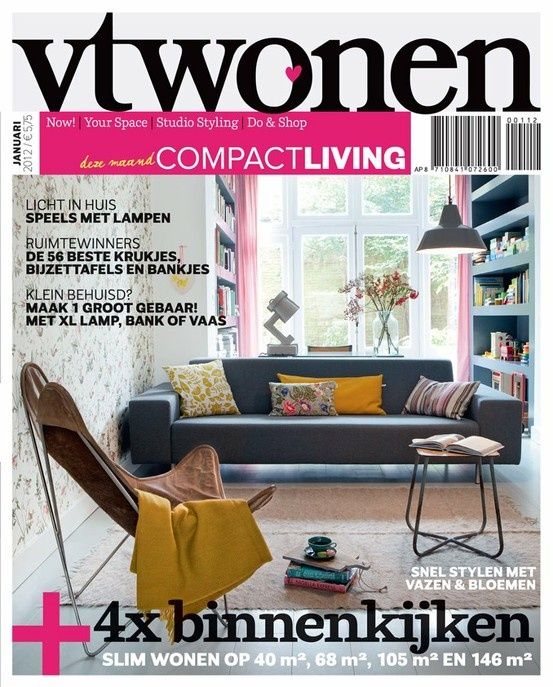 vtwonen cover january 2012 #magazine #interior