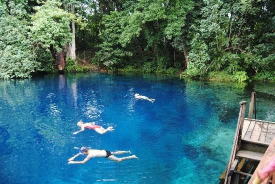 Nanda Blue Hole / Jackies Blue Hole Reviews - Luganville, Espiritu Santo Vanuatu