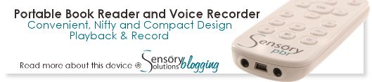 Email banner to promote product for Sensory Solutions