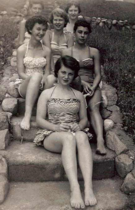 1940s Beach Day