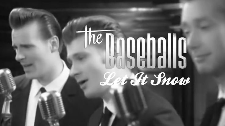 The Baseballs - Let It Snow (official video)