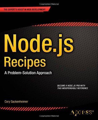 23 best manuais de nodejs images on pinterest free ebooks nodejs recipes a problem solution approach free ebooks download fandeluxe Images