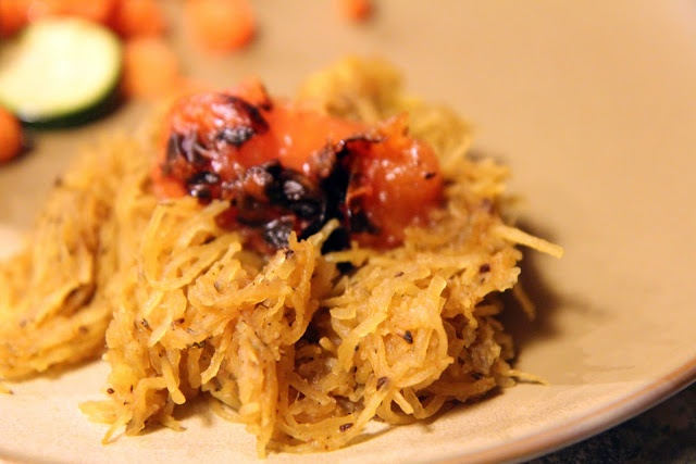 Roasted Spaghetti Squash with Brown Butter and Herbs | and then I ...