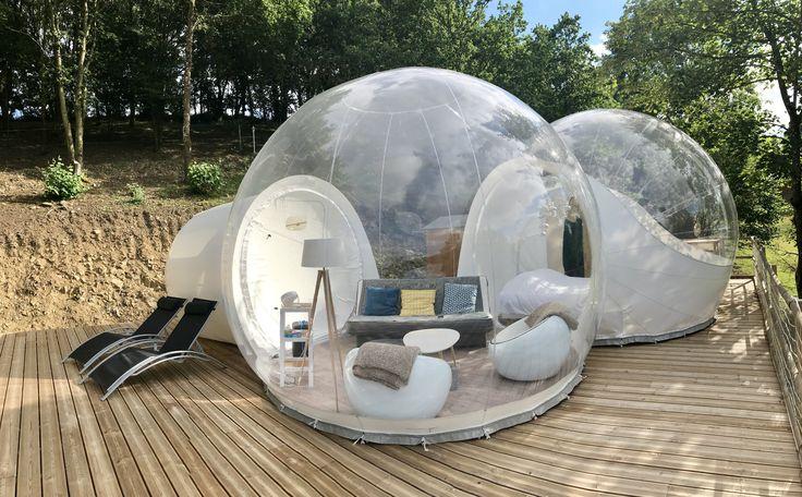 Si vous recherchez un endroit pour vous déconnecter, passer une nuit romantique ou vivre une expérience insolite : je vous conseille la bulle étoilée !