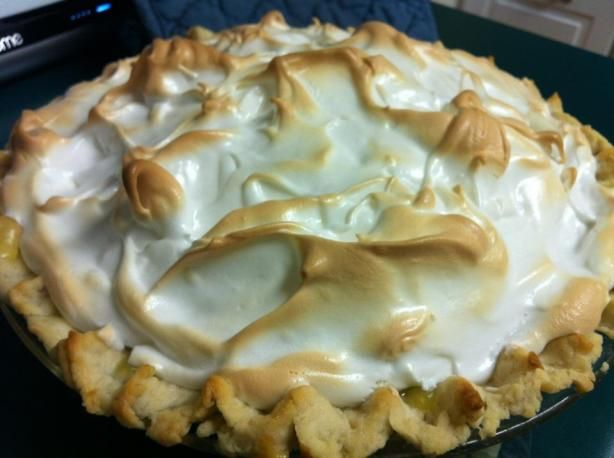 Fresh Lemon Meringue Pie from Food.com: When you're in the mood for lemon meringue pie, try this classic... it's the real thing!