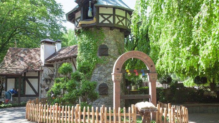 Torre Rapunzel, Parque de atracciones Europa Park