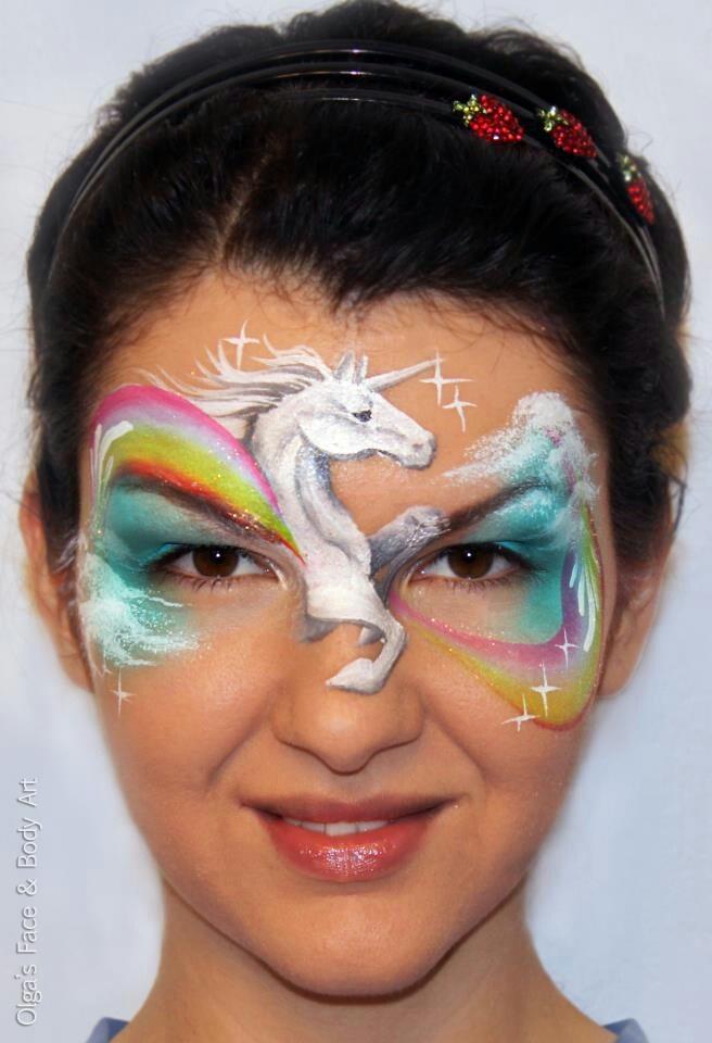 Unicorb Face Paint Design Join Olga For Her Australian Tour 2017 The Painting