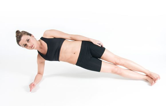 Increase core strength and endurance for lower back support while running