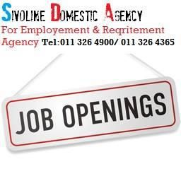 DOES YOUR WORKER WANT TO GO FOR BREAK ? Does your worker want to go for break. We can source a temp for you at Our placement agency fee is very reasonable & affordable for employers SIVOLINE DOMESTIC AGENCY Cell or whats app NO +27 0781156349 bbm pin: 7E17003E Tel;+27(0)11 326 4900 /+27 (0)11 326 4365. Office Address:Randburg Cnr Pretoria Avenue and 7hill street mall,140 office Republic place Building above Lewis furniture shop