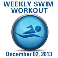 Tis the Season for Speed! Swim Workout
