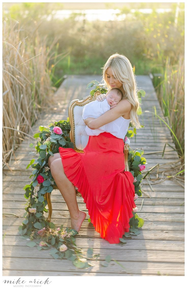 Mike Arick Photography - Newborn Photography Flowers by Lavenders Flowers