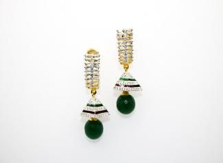 ADE109 - American Diamond Earings