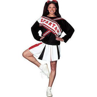 spartan cheerleaders costume - Google Search