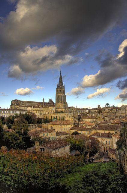 St Emilion - Gironde - France join us here this September https://girlsguidetoparis.com/trips-2-2/