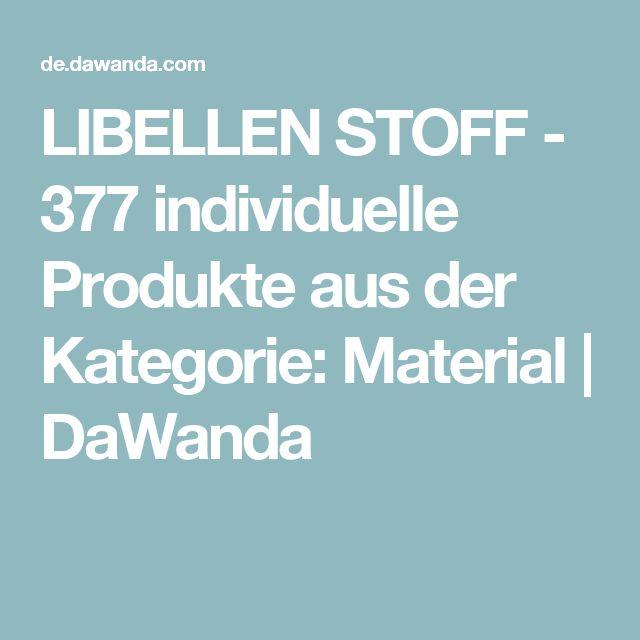 LIBELLEN STOFF - 377 individuelle Produkte aus der Kategorie: Material | DaWanda