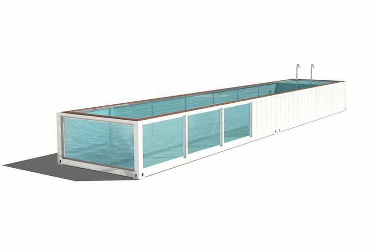 recycled shipping container pool prototype pins recycled cargo pinterest pools shipping. Black Bedroom Furniture Sets. Home Design Ideas