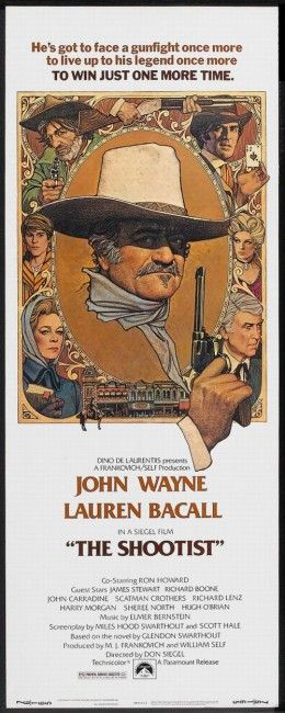 The Shootist (1976) The Duke's last and one of his best films.