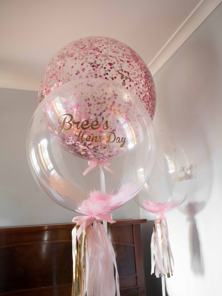 Bespoke Customised Pastel and Baby Pink Balloon with Gold lettering #Bespoke #Bespokeballoon #Customisedballoon #Personalisedballoon #Balloon #PinkBalloon #Feathers #Tassels #Confettiballoon #Confetti #Hensday #Bridal #Bridalday #Bridalparty #PuffandPop