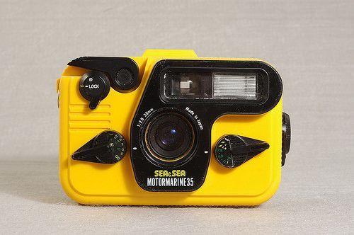 Used Sea & Sea Motormarine 35 Underwater Film Camera