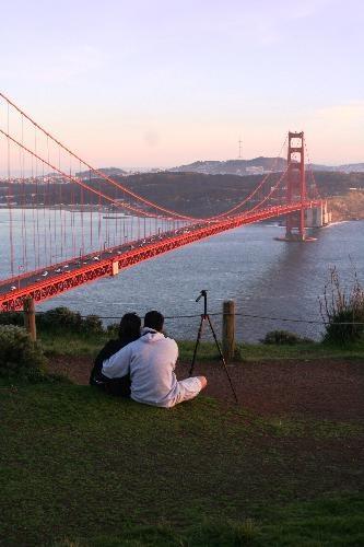 : Bridge Figure, Golden Gate Bridge, Wedding Photo, Dream Vacations, Vacation Places, Headlands Sanfrancisco